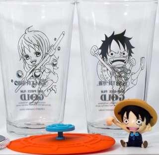MTR x 海賊王 One Piece 玻璃杯套裝
