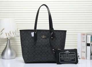 2 in 1 Coach Tote Handbag (FREE POSTAGE)