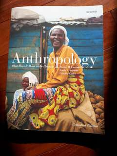 Anthropology- What Does it Mean to be Human