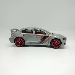 Hot Wheels Mitsubishi Evolution X