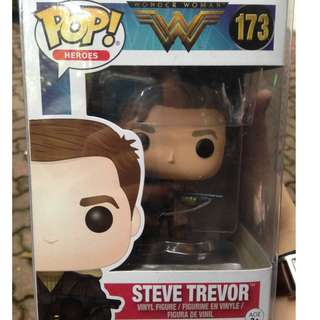 Steve Trevor Wonder Woman DC Funko Pop