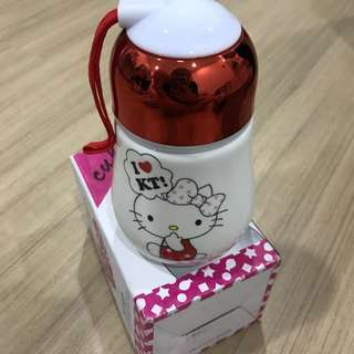 Hello Kitty Mug with Lid