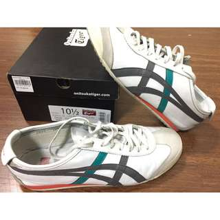 Onitsuka Tiger AUTH Mexico 66 mens shoes sneakers white US 10.5 SRP P5,800