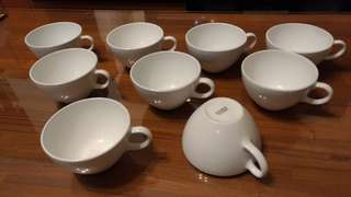 康寧強化咖啡杯9只