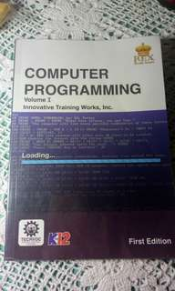 GRADE 10 BOOK: COMPUTER PROGRAMMING