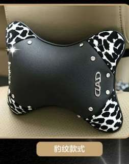 🚚 真的最低了~DAD豹紋鑲鑽車內套飾