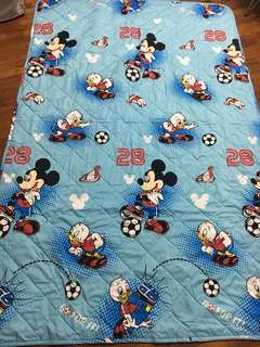 Mickey Mouse comforter