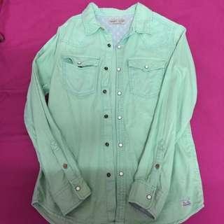 Shirt Button Long Sleeve