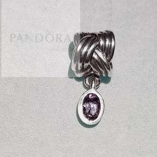 Pandora Dangle Charm Amethyst