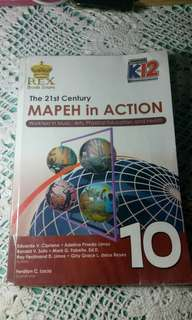 GRADE 10 BOOK: THE 21ST CENTURY MAPEH IN ACTION