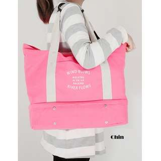 **BEST BUY** Chin Canvas Tote Bag.