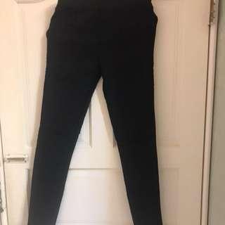 顯瘦黑色褲
