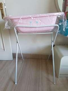 Bathtub & bath stand mothercare, bak mandi bayi