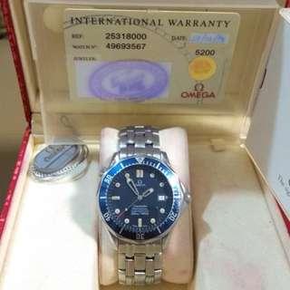 OMEGA Seamaster professional chronometer 300m/1000ft machine watch