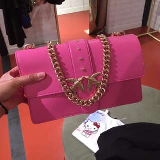 Pinko love bag pink colour