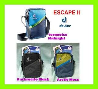 🍒Trendy🍒 Deuter ESCAPE II Shoulder Bag   Sling Bag