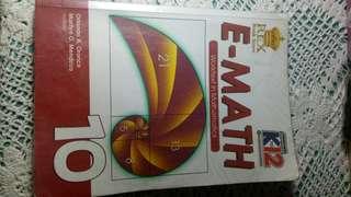 GRADE 10 BOOK: EMATH