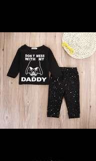 Baby Boy Clothes Set Star Wars Newborn Infant Kids Children [PO]