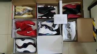 Nike, Air Jordan, Adidas