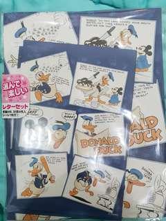 Surat dan amlpop Donald Duck Jepang