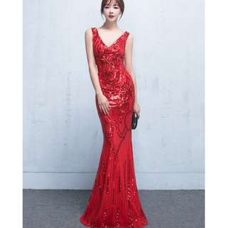 Red Evening Gown red black blue evening gown