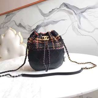 Chanel Crossbody Bucket Bag