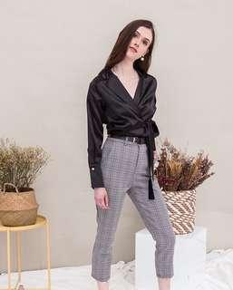 (PO) Terezza Checkered Pants