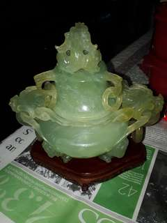 Hand Carved Jade (more than 20 years)