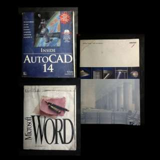 BOOK SELECTION: REFERENCE BOOKS & STUDY AIDS (C) Inside Autocad 14 * Lighting Design, Lights & Interiors * Microsoft Word Users Guide