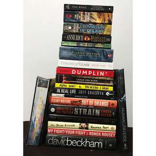 NAME YOUR PRICE!! Books on Clearance Sale (Young Adult, Non Fiction, Fantasy, etc.)