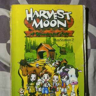 "Walktrough Harvestmoon ""A wonderful life"" PS2"