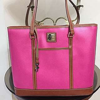 Dooney  and Bourke Lexington Leather Tote