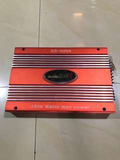 Audio quart amp 1200watts
