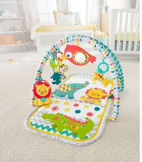 [Brand New] Fisher Price Colourful Carnival 3 in 1 Activity Gym