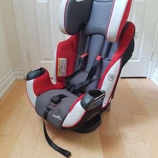 EvenFlo Adjustable Car Seat
