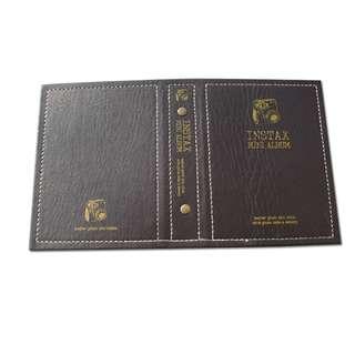 📣🆕Polaroid Faux Leather Instax Photo Album - Dark Brown