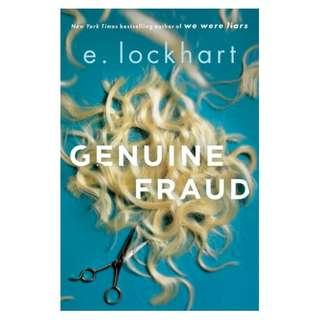 (Ebook) Genuine Fraud by E. Lockhart