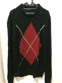 Sweater rajut Zara