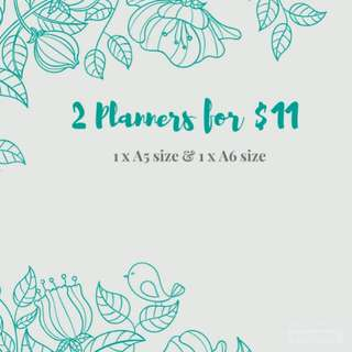 ($12) OFFER BN Planners 2018