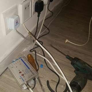 96018704 (新界西)修理各類高清電視,雪櫃,電熱水爐等問題