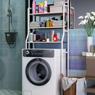 Washing Machine & Toilet 3-Tier Storage Rack