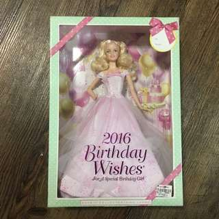 Barbie Collector Pink Label Birthday Wishes 2016