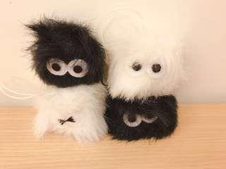 🚚 日本帶回~灰塵娃娃 各種表情 全新吊飾