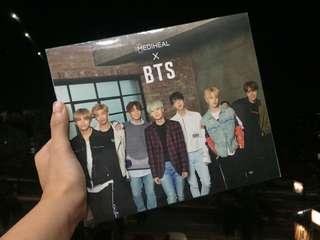 BTS x Mediheal (face mask box w/ photocards)