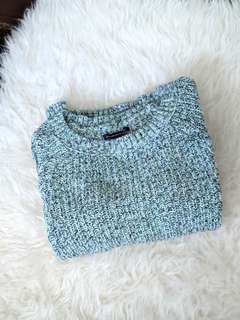 American Eagle Mint Green Sweater M