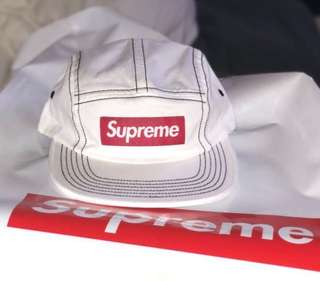 New! Supreme Camp Cap ss18