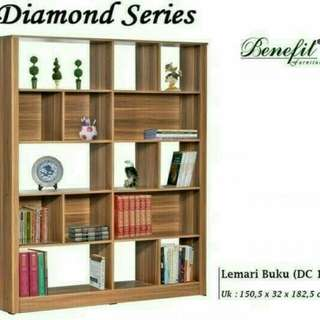 Rak buku diamond series