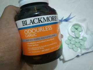 Vitamin harga satuan !! Blackmores odourless garlic