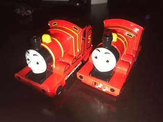 McDonald's Thomas and Friend Train James