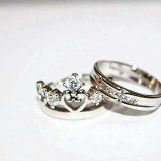 Silver Plated Ring (adjustable)